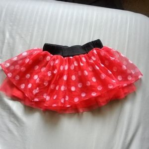Minnie Mouse skirt size 4T